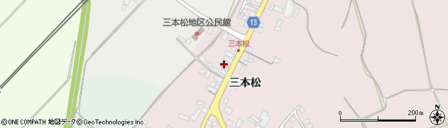 山形県上山市三本松66周辺の地図