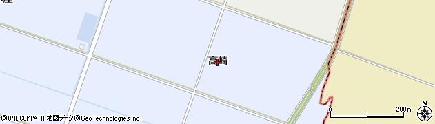 宮城県名取市愛島北目(高崎)周辺の地図