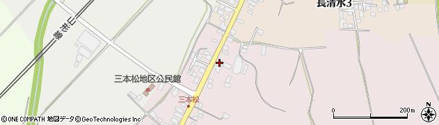 山形県上山市三本松1313周辺の地図