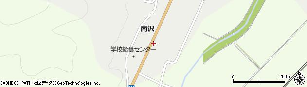 山形県上山市高松南谷地1212周辺の地図