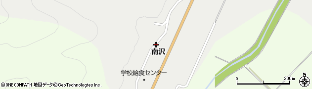 山形県上山市高松南沢1290周辺の地図
