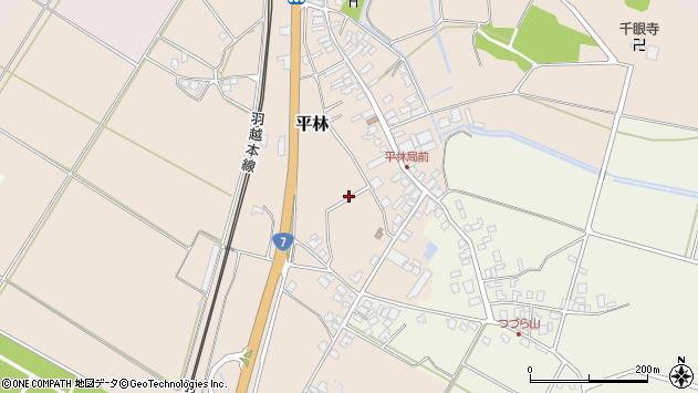 〒959-3431 新潟県村上市平林の地図