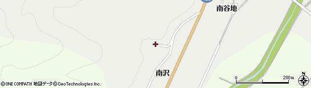 山形県上山市高松南沢1335周辺の地図