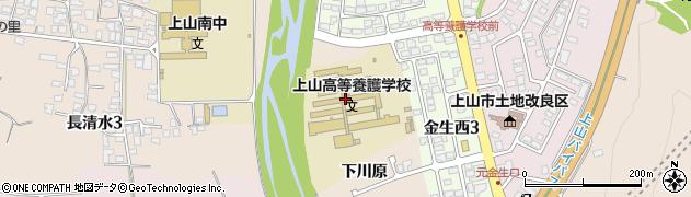 山形県上山市宮脇下川原600周辺の地図