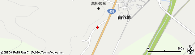 山形県上山市高松78周辺の地図