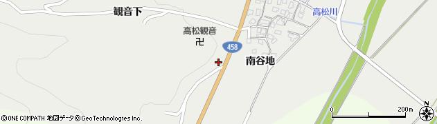山形県上山市高松55周辺の地図