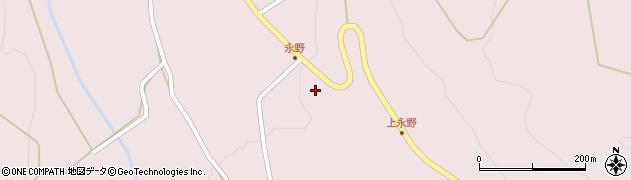 山形県上山市永野22周辺の地図