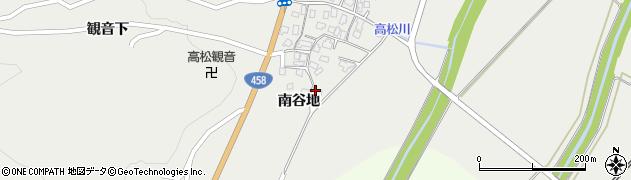 山形県上山市高松南谷地1159周辺の地図
