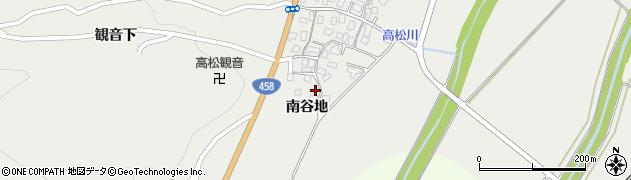 山形県上山市高松76周辺の地図