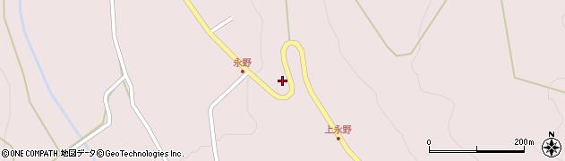 山形県上山市永野28周辺の地図