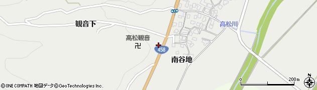 山形県上山市高松1503周辺の地図