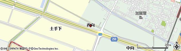 宮城県名取市植松(西向)周辺の地図