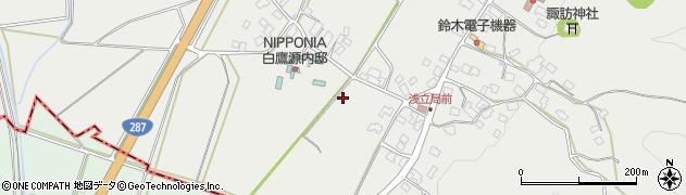 山形県西置賜郡白鷹町浅立入川原周辺の地図
