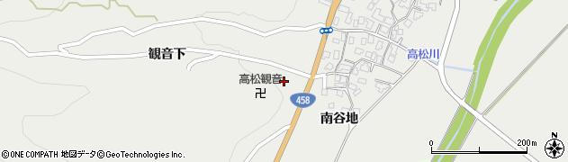 山形県上山市高松1515周辺の地図