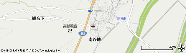 山形県上山市高松70周辺の地図