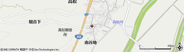 山形県上山市高松68周辺の地図