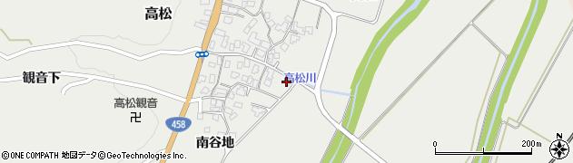山形県上山市高松1146周辺の地図