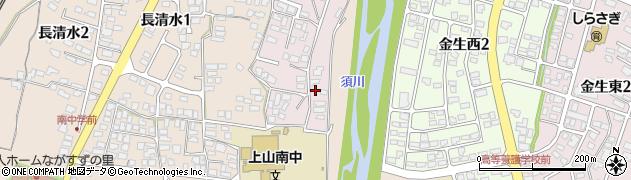 山形県上山市石堂8周辺の地図