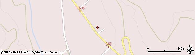 山形県上山市永野44周辺の地図