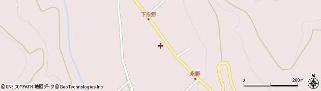 山形県上山市永野6周辺の地図