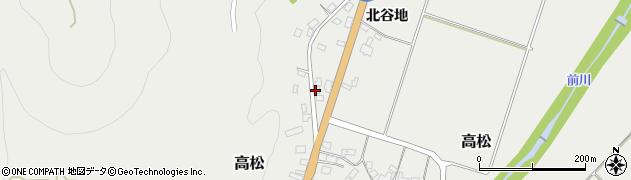 山形県上山市高松328周辺の地図
