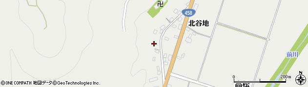 山形県上山市高松143周辺の地図