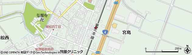 宮城県名取市植松(北宿前)周辺の地図