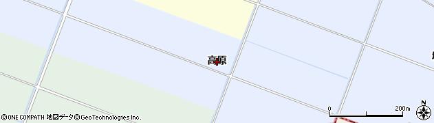 宮城県名取市杉ケ袋(高原)周辺の地図