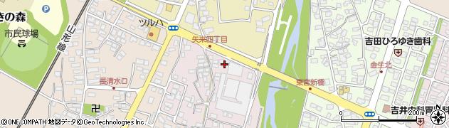 山形県上山市石堂3周辺の地図
