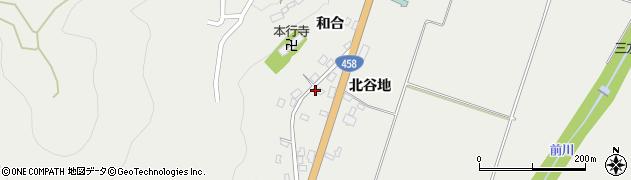 山形県上山市高松302周辺の地図