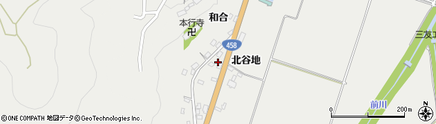 山形県上山市高松121-1周辺の地図