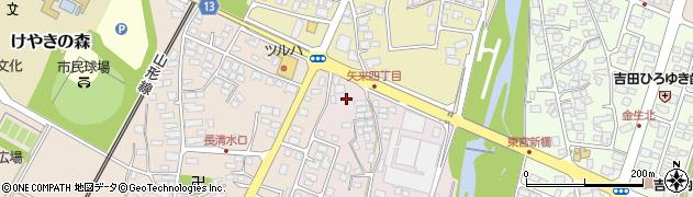 山形県上山市石堂1周辺の地図