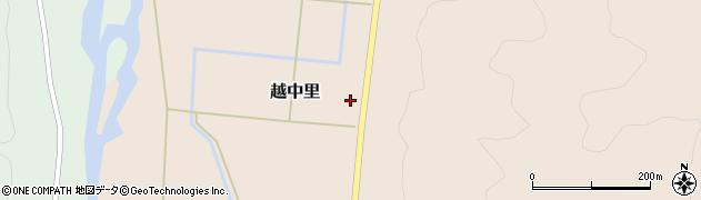 山形県西置賜郡小国町越中里618周辺の地図