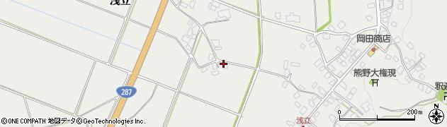 山形県西置賜郡白鷹町浅立818周辺の地図