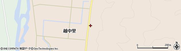山形県西置賜郡小国町越中里279周辺の地図