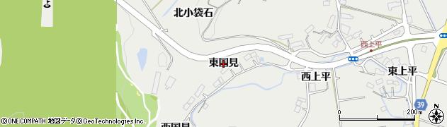宮城県名取市愛島笠島(東国見)周辺の地図