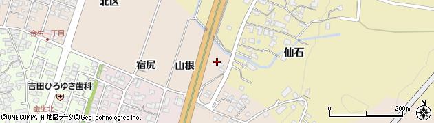 山形県上山市金生山根1028周辺の地図
