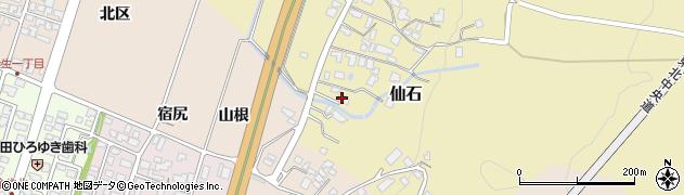 山形県上山市仙石糸目376周辺の地図