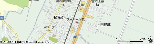 スーパーホテル仙台空港インター周辺の地図