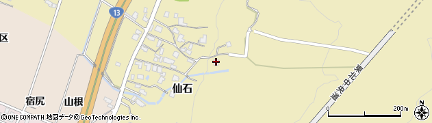 山形県上山市仙石1610周辺の地図