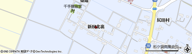 宮城県名取市杉ケ袋(新田北裏)周辺の地図