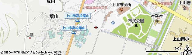 山形県上山市高松276周辺の地図