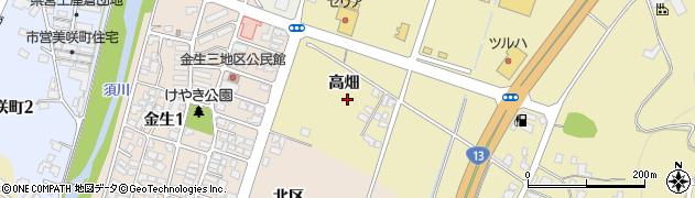 山形県上山市仙石高畑854周辺の地図