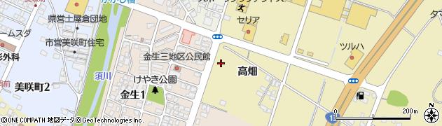 山形県上山市仙石859周辺の地図
