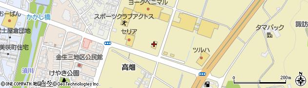 山形県上山市仙石梅ノ木780周辺の地図