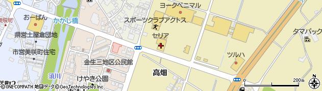 山形県上山市仙石元糸目797周辺の地図