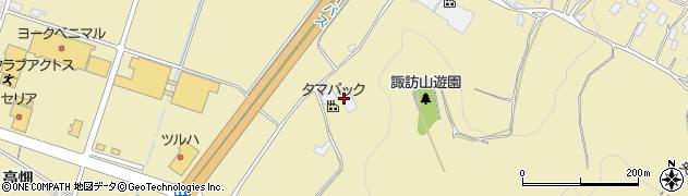 山形県上山市仙石安如寺251周辺の地図