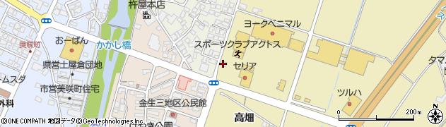 山形県上山市仙石元糸目795周辺の地図