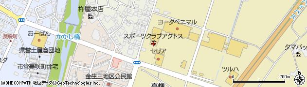 山形県上山市仙石元糸目793周辺の地図