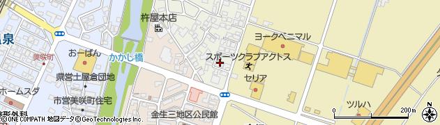山形県上山市東町8周辺の地図